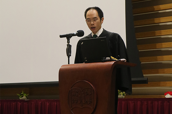 Assistant Professor Paul Fung, Hall Master of the Wellness College