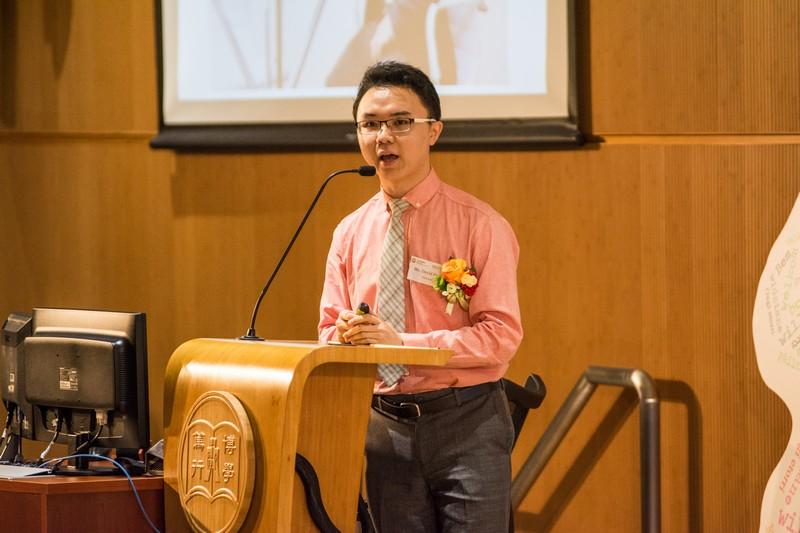 校友潘天衛先生分享他的學習及事業策劃經驗