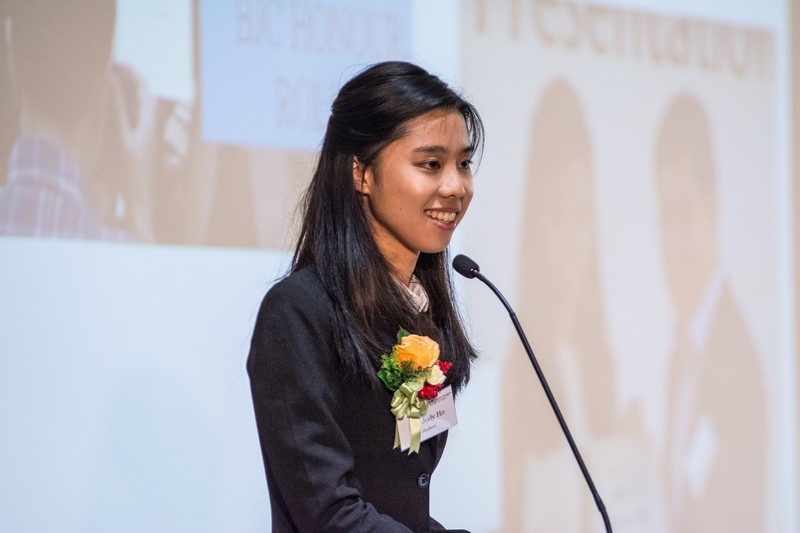Ms Jody Ho, a BJC Year 4 student, shared on her gains and U life at HSMC