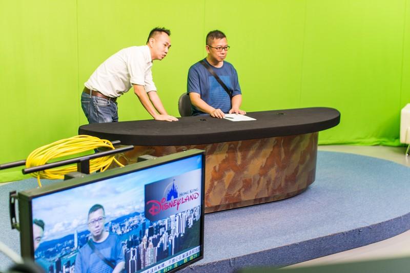 校園導賞遊 ─ BJC電視錄影廠