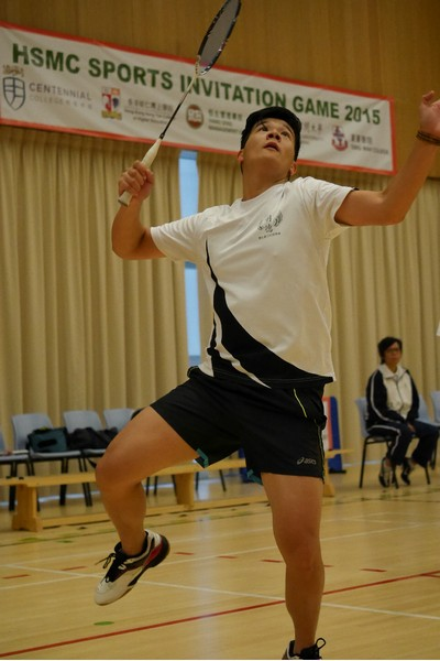 Scences of the badminton game