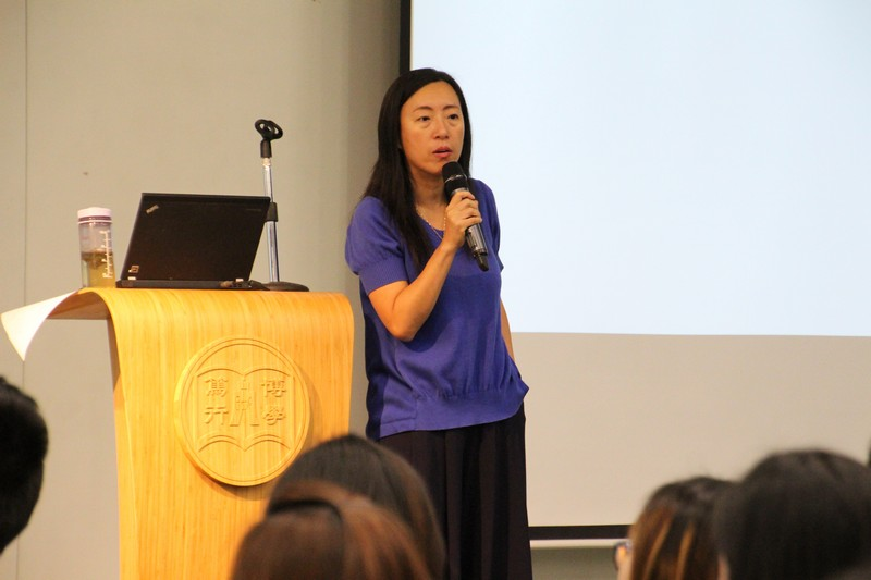Dr Meily Cheung, Assistant Professor, elaborated the application and selection procedures in detail