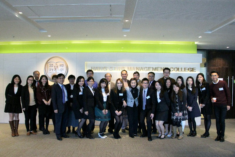 Group photo of SCOM staff, BJC students and alumni