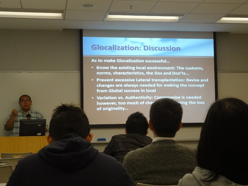 """Dr Michael Chan initiated discussion on the idea of """"Glocalization"""""""