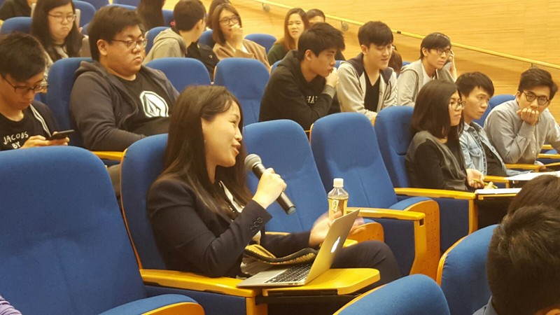 Dr Linsey Chen joined the discussion on cross-border insolvency during the seminar