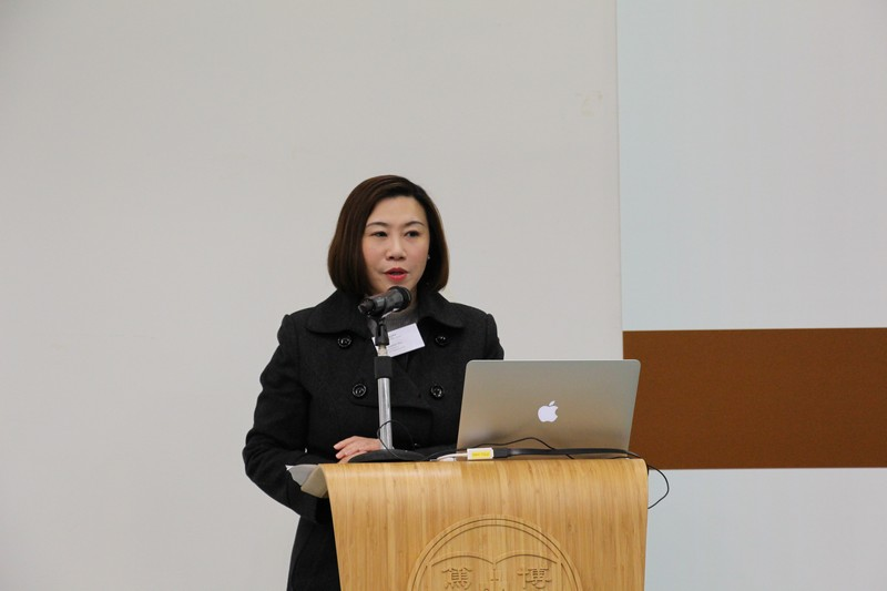 Dean Scarlet Tso (School of Communication) gave a welcoming speech