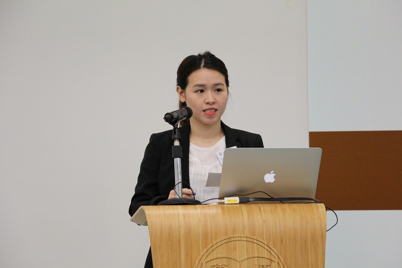 MC of the talk, Ashley Keung Tsz Ching, BJC Year 3 student