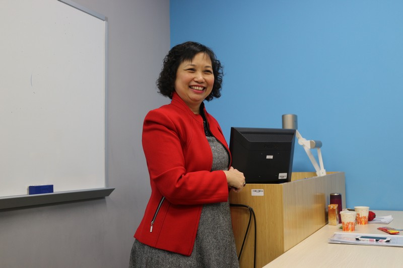 Ms Choy fully captured participants' attention with her real-life stories -1