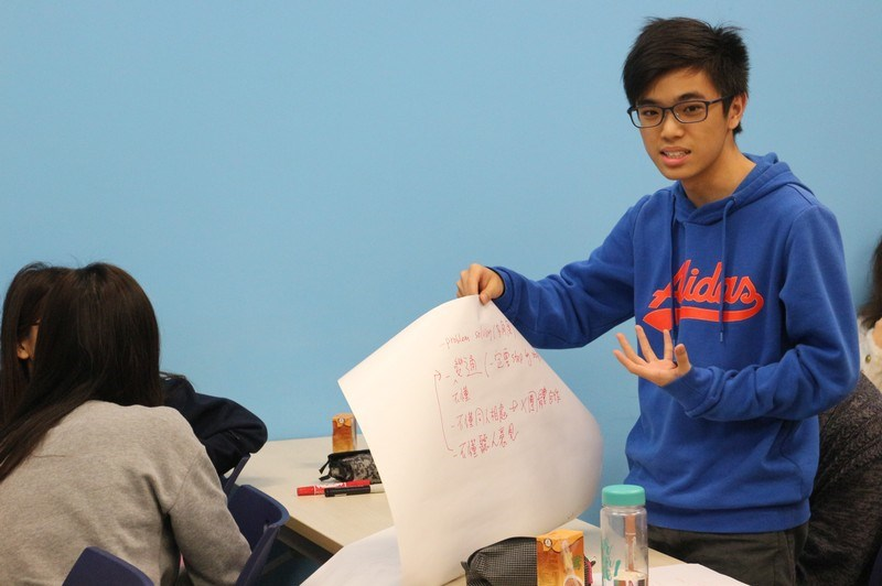 Participants presented their personal branding statements and discussed the limitations of robots -4