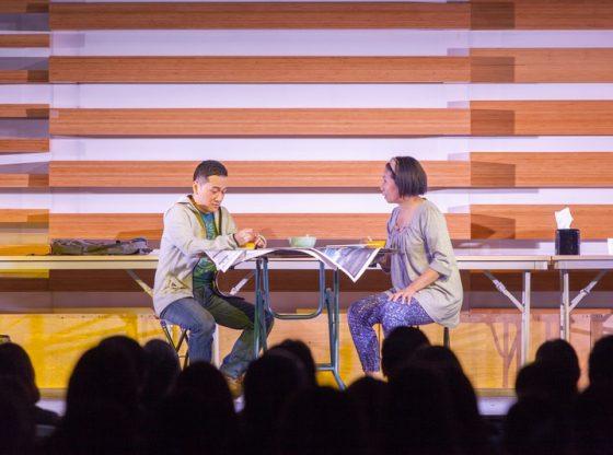 香港話劇團《最後晚餐》第101場在恒管上演 -1