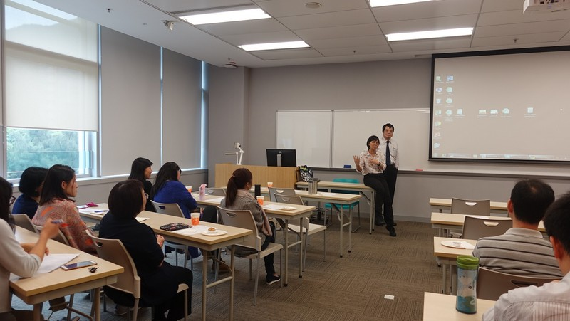 Dr Heather Lee and Dr Siu Yam Wing shared their valuable teaching experience and practices with the participants.