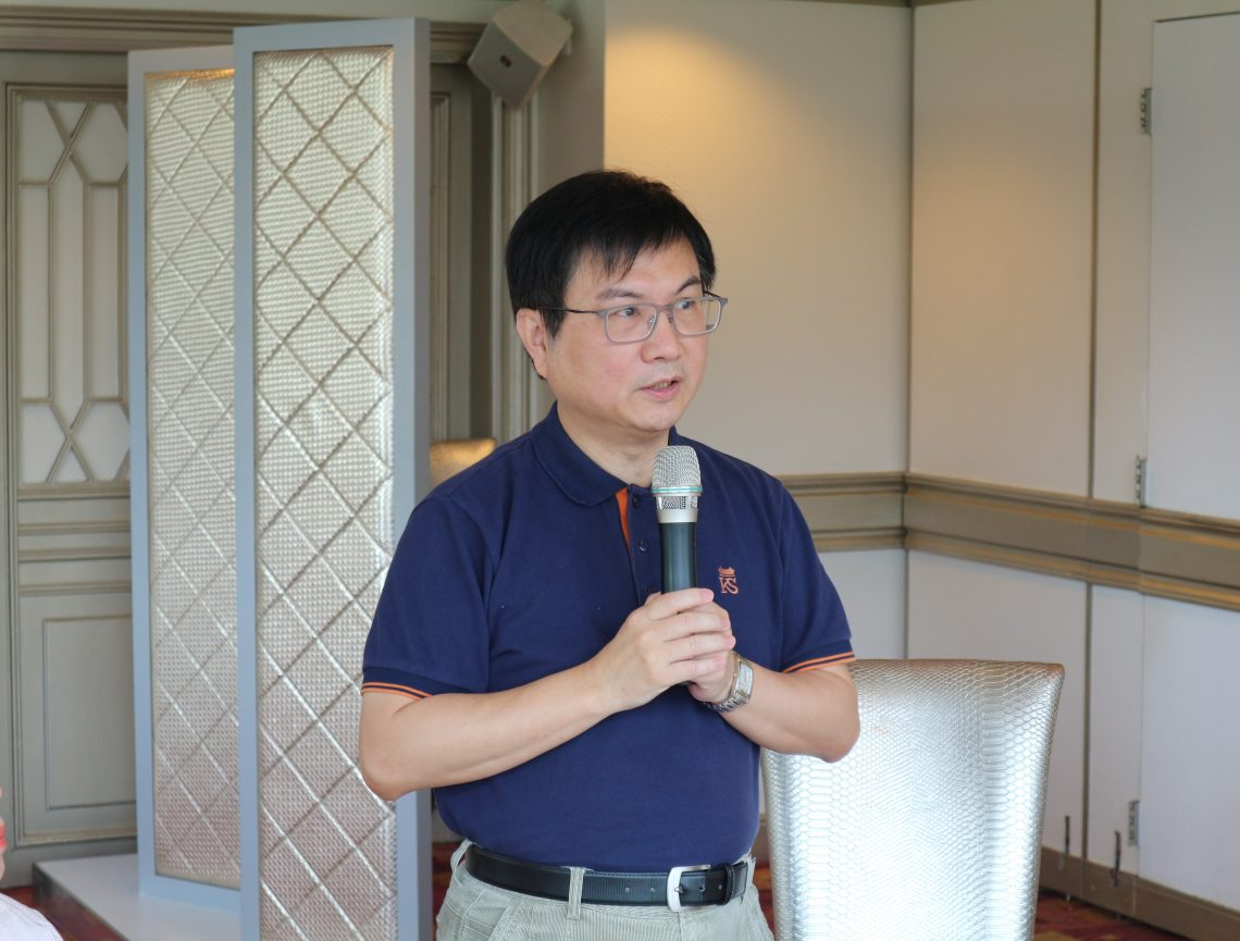 Associate Dean James Chang of the School of Communication, BJC Programme Director, shared his views on the Programme.