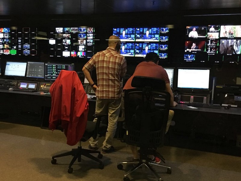 Broadcast Operations Department (Master Control Room)