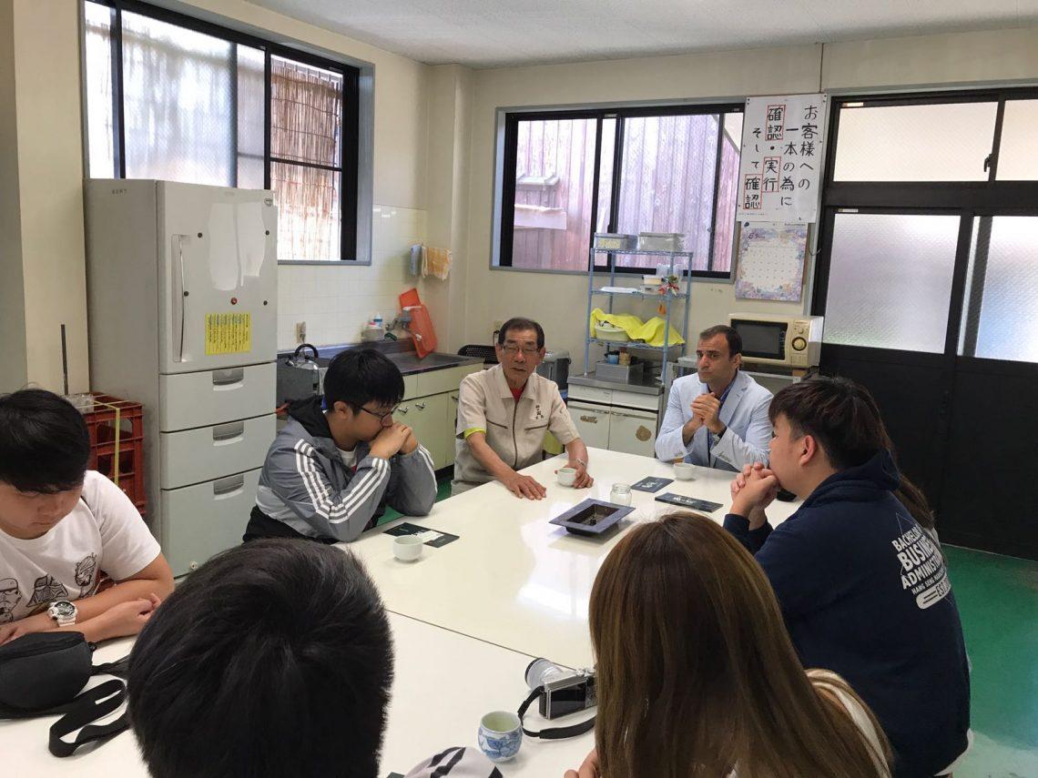 Meeting Kayashima Susumu, President of Kayashima Sake Brewing Co Ltd.