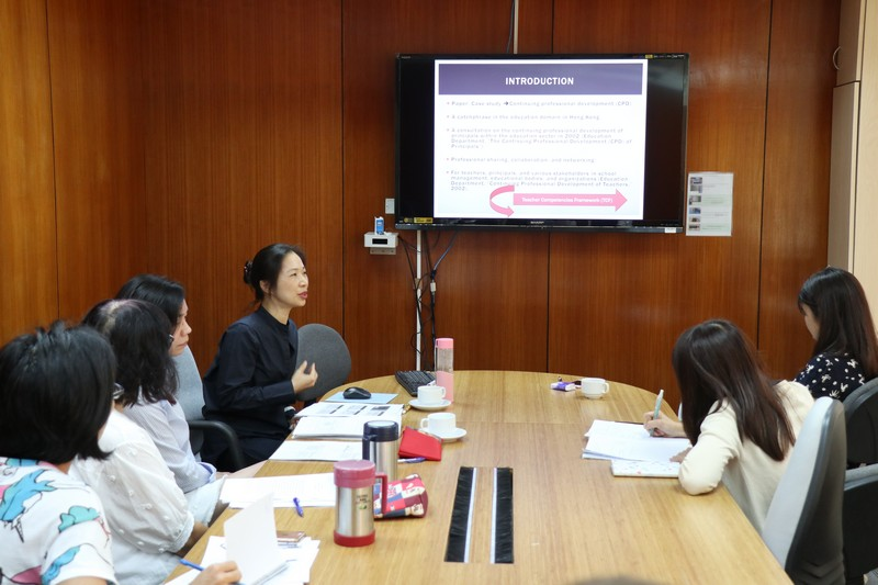 Dr Clara Cheng shared her views on successful teacher followership and its implication.