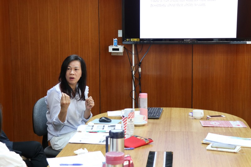 Dr Sue Yip discussed how the human capital theory influences education and course selection.
