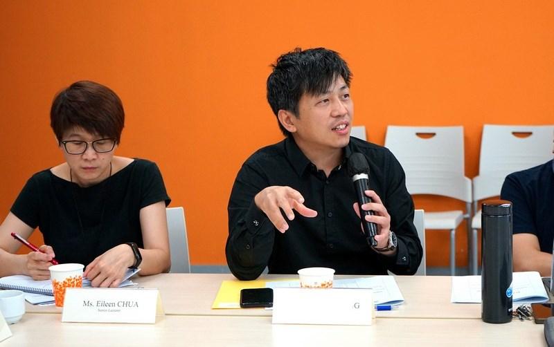教授與講師於討論環節積極發表意見。