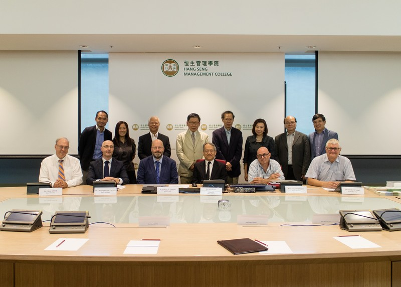 Group photo of Panel members, senior management of HSMC and SCOM staff