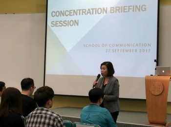 Bachelor of Journalism and Communication (Honours) Concentration Briefing Session