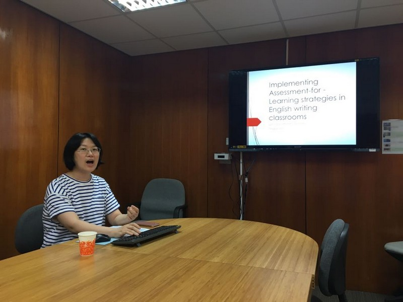 Dr Maggie Ma shared her insights on implementing assessments for learning.