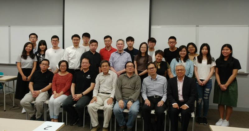 Group photo of mentors, mentees and academic staff of the SCM Department