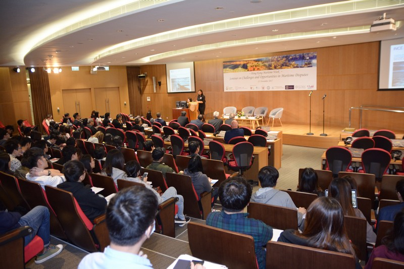 Seminar on Challenges and Opportunities in Maritime Disputes in Hong Kong Maritime Week