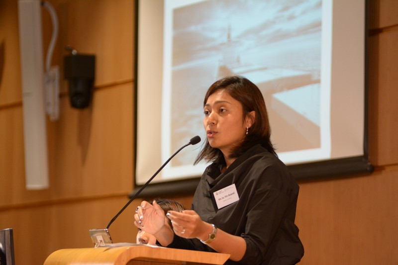 "Ms Suyin Anand shared practical issues about maritime disputes and her speech topic was ""Problem Solving Your Way through Shipping Disputes – an Overview of Common Issues that Arise in Maritime Disputes and How They can be Solved""."