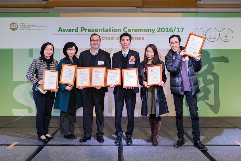 Staff Awardees