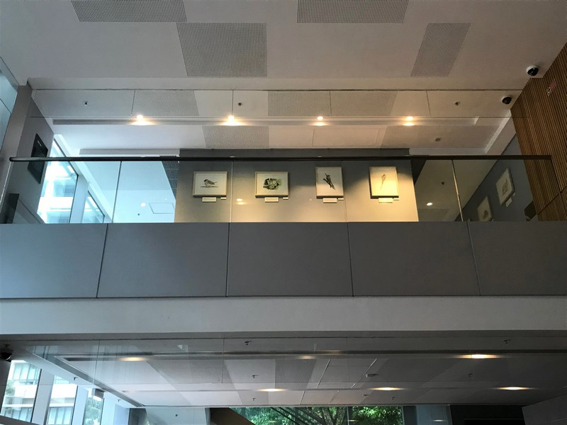 Exhibition on M/F of Lee Quo Wei Academic Building