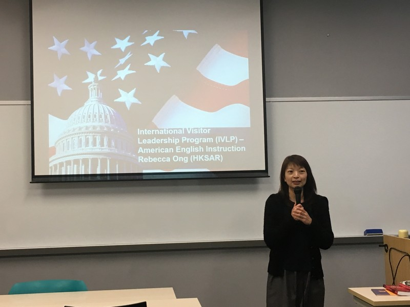 Dr Rebecca Ong shared her experience in the United States of America.
