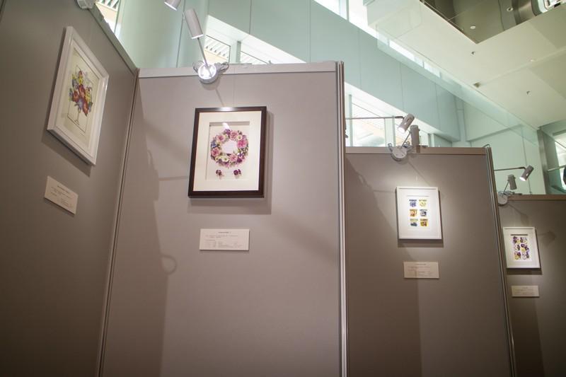 Exhibition on Japanese Pressed Flower Art