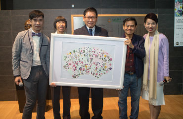 """CHANCES TO POSSIBILITIES"" Exhibition on Japanese Pressed Flower Art by Dr Serina Ha Miu Yin"