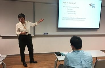 吳靄儀博士主講:香港的雙語立法