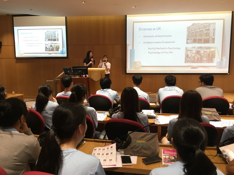 Senior students of the School of Translation shared their experience.