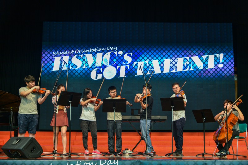 HSMC Sinfonietta in HSMC's Got Talent