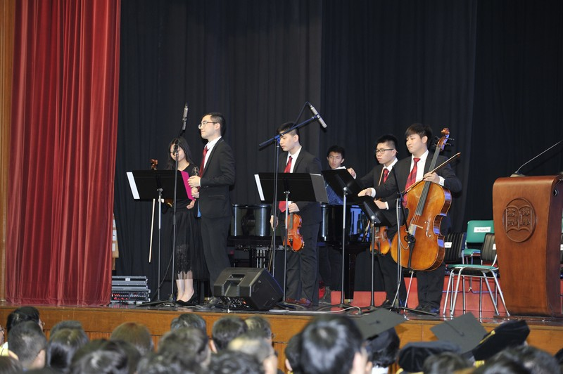 Performance by members of the College Sinfonietta