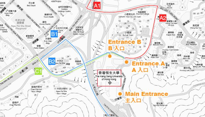 Campus Map - The Hang Seng University of Hong Kong