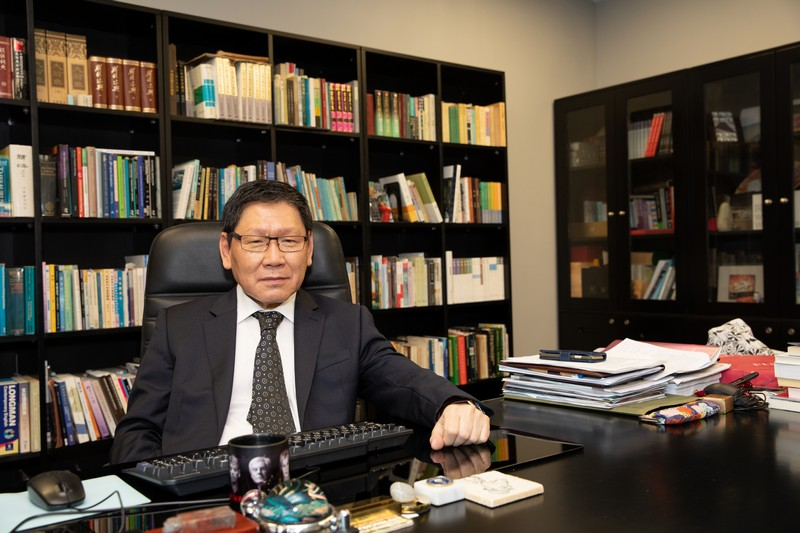 Professor Fong said the honour is a recognition and affirmation. He felt happy about it.