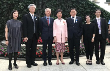 Professor Gilbert Fong Chee Fun was Awarded the Medal of Honour