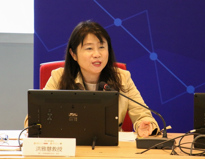 Chairperson of Panel Discussion 4, Professor Hong Yah Huei, Dean of College of Communication, Fu Jen University