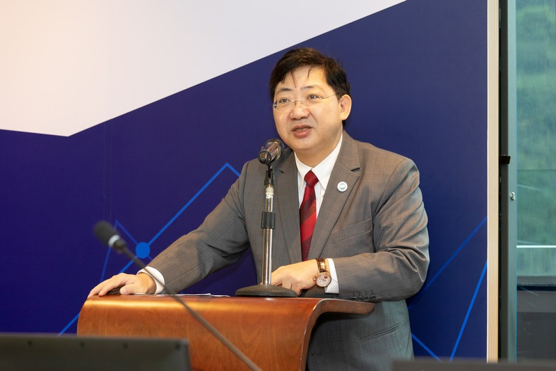 President Simon Ho of The Hang Seng University of Hong Kong delivered an opening remark.