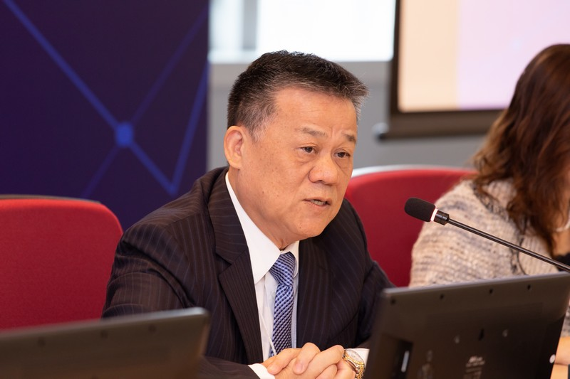 Chairperson of Panel Discussion 1, Professor Wu Yeong Chyan, President of Shih Hsin University