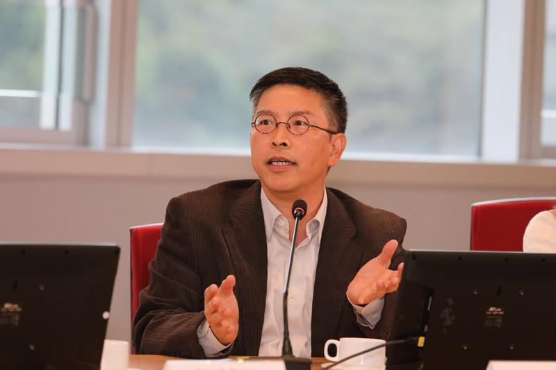 香港恒生大學社會科學系助理教授林榮鈞博士,介紹恒大的生死教育課程。