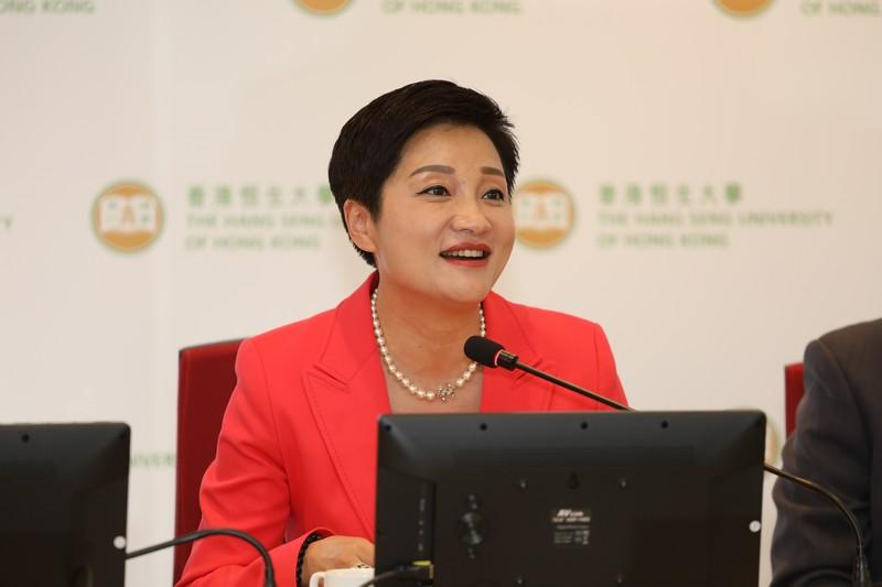 福壽園國際集團首席品牌官伊華女士表示,「滬港大專院校生命教育新媒體創意大賽」旨在提升大專院校學生對生命教育的重視,推廣生命價值及意義。