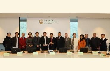 Foshan University Visited HSUHK