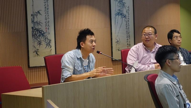 參加者於問答環節中踴躍發問並與主講者作互動討論。