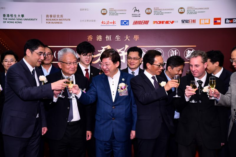 All guests participated in and toasted for the Junzi Corporation kick-off ceremony.