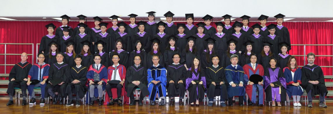 Graduating students of Bachelor of Management Science and Information Management (Honours) and their teachers