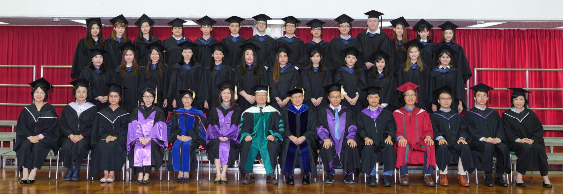 Graduating students of Bachelor of Arts (Honours) in Chinese and their teachers