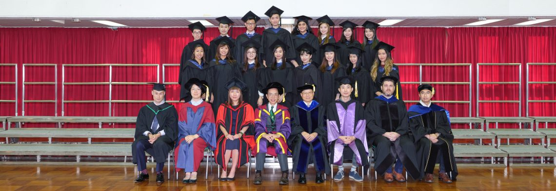 Graduating students of Bachelor of Arts in English (Honours) and their teachers